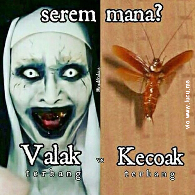 Meme Lucu The COnjuring 2 Can Jurik