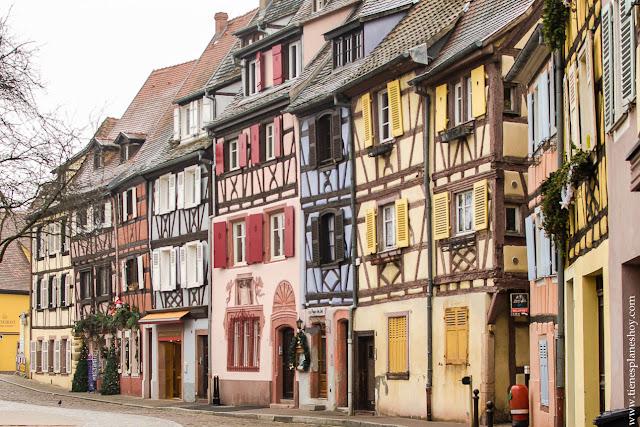 Colmar Alsacia distrito pescadores viaje Francia