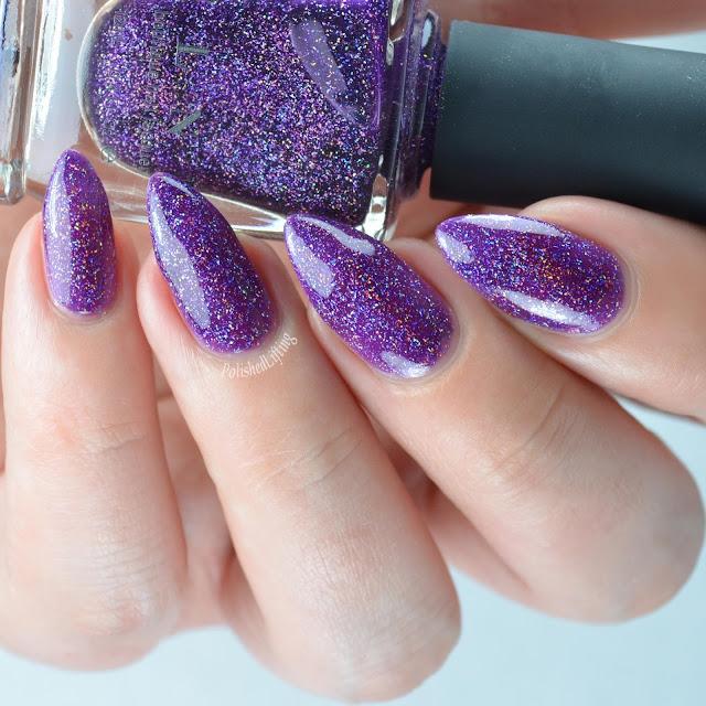 purple jelly nail polish