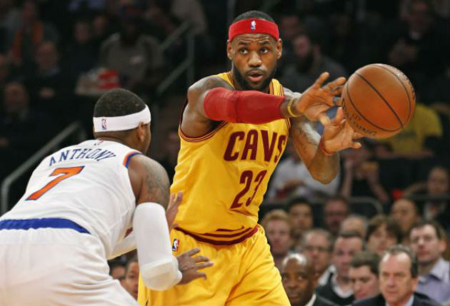 Duel de all-stars cette nuit en NBA entre Carmelo Anthony (New York Knicks) et LeBron James (Cleveland Cavaliers)