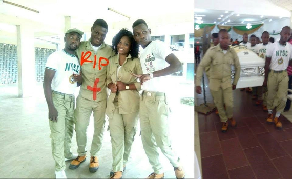 Serving corps member drowns in Port Harcourt, Rivers State (see photos)