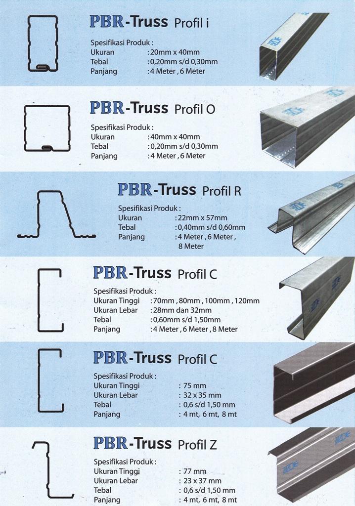 harga rangka atap baja ringan klaten dari pbr ~ ud aurelia sanjaya devisi ...