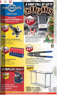 Princess Auto Flyer December 12 to 24, 2017