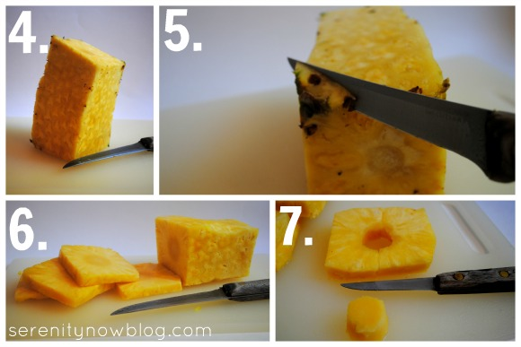 How to Cut and Slice a Pineapple, Serenity Now blog