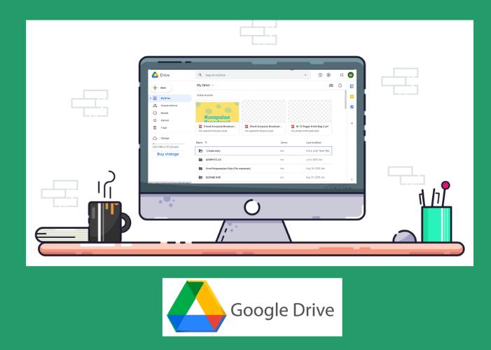 Gambar Laptop dan Drive