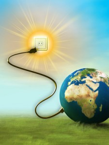 Renewable Energy Sources Save Planet Earth