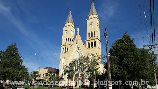 Igreja São Francisco de Assis, Monte Belo do Sul, Serra Gaúcha