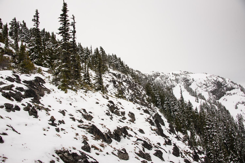 Lupin Mountain Beadnell Mountain, Rodgers Ridge