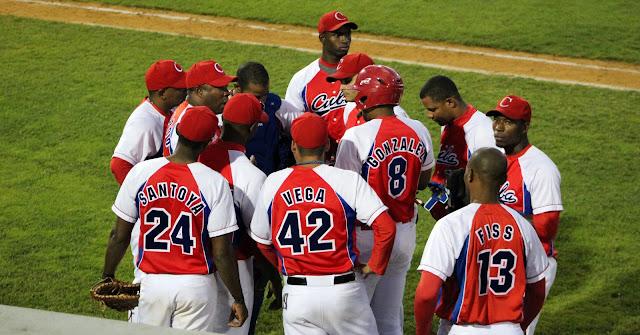 El equipo nacional cubano solo pudo conectar 3 hits contra el equipo universitario de USA