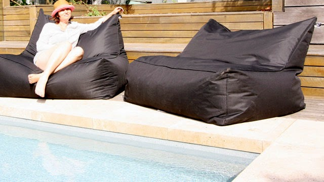 Surprising Resort Style Bean Bags At The Pool Caraccident5 Cool Chair Designs And Ideas Caraccident5Info