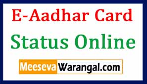 E-Aadhar Card Free Download | Aadhar Card Status Online | Aadhar Card Update Online