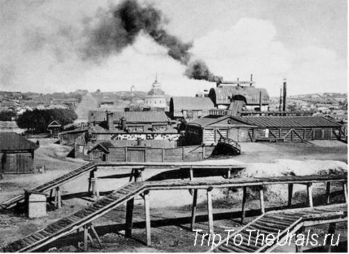 Верхне-Уфалейский Демидовский завод