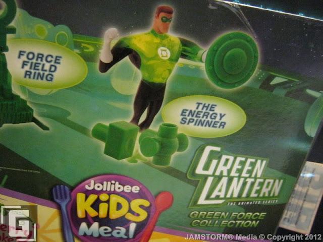 Geekmatic Jollibee Kids Meal Green Lantern Animated