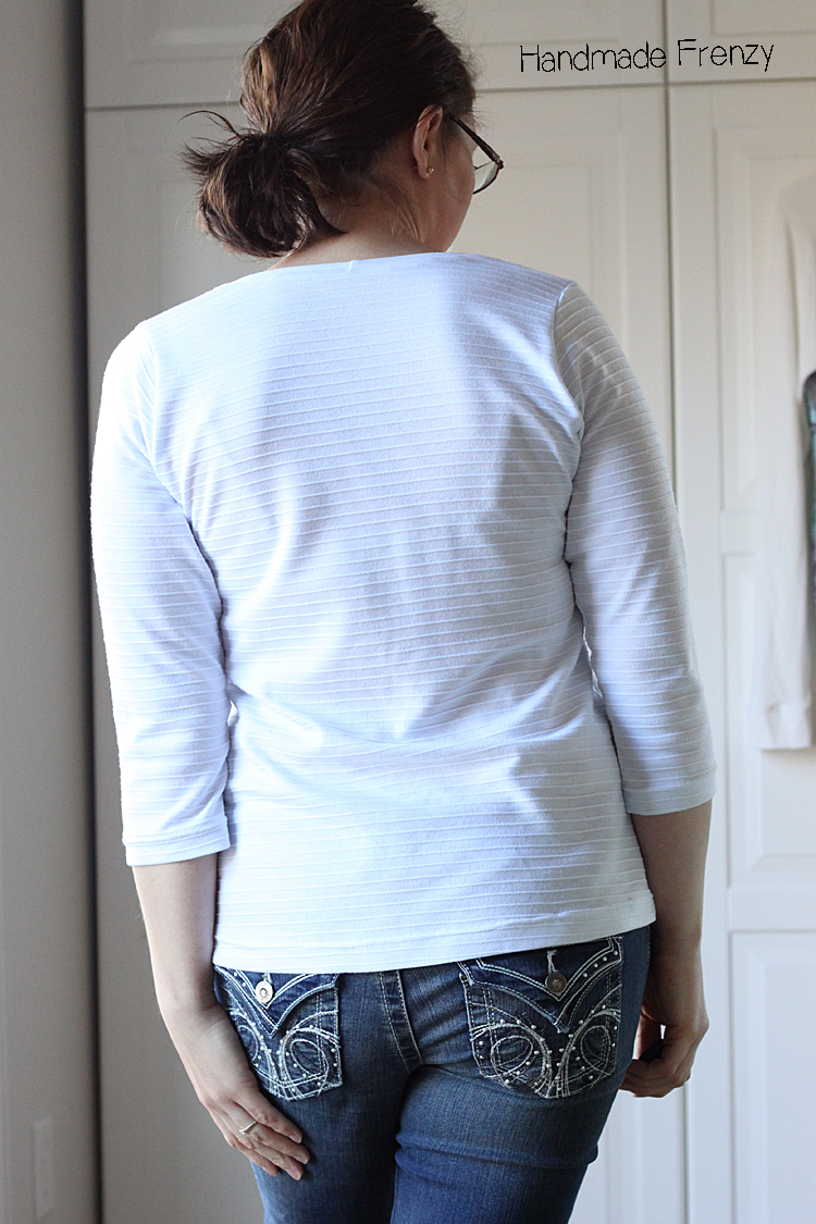 Handmade Frenzy // Montlake Tee Sewing Pattern Review