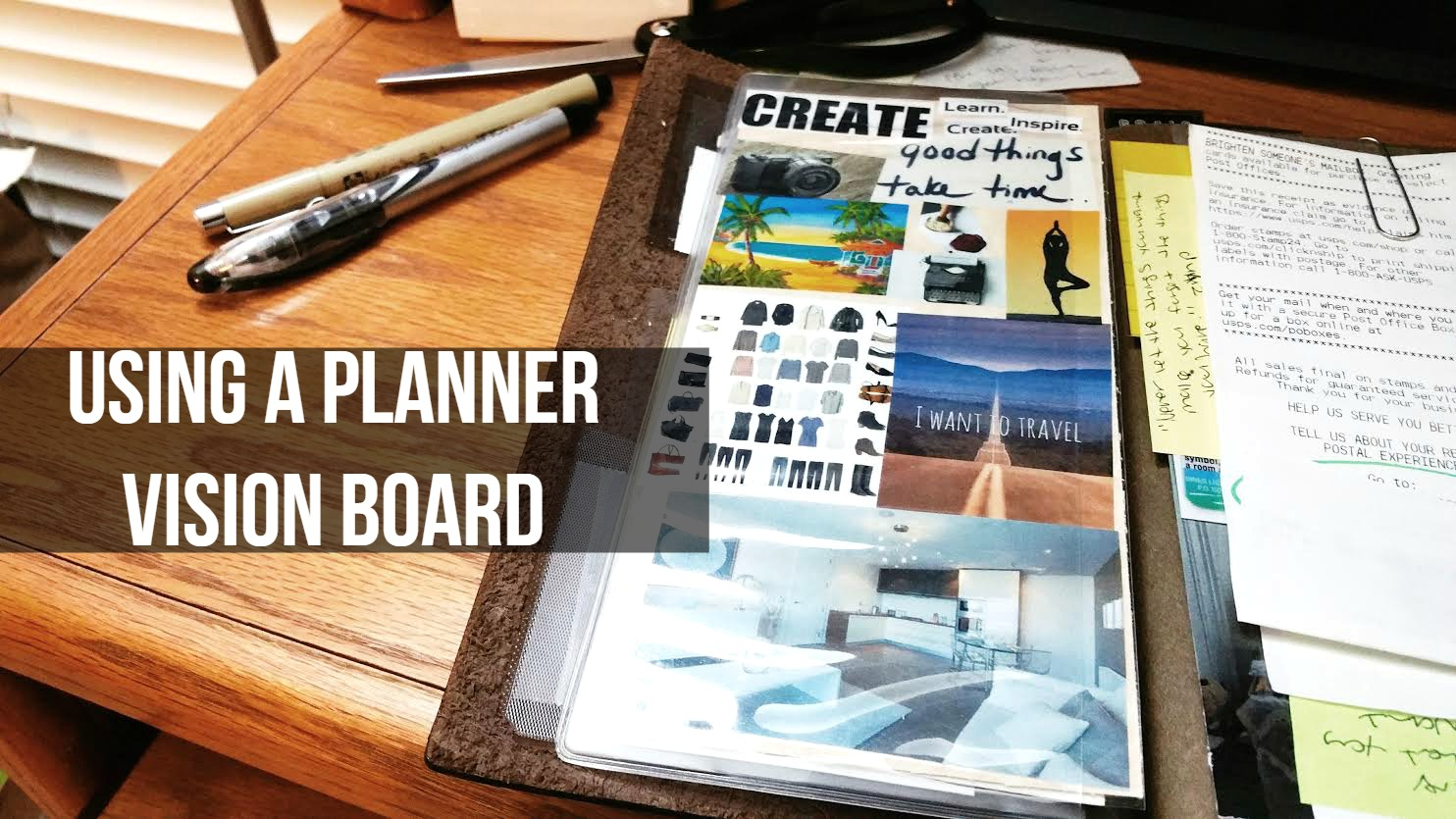 Staying Motivated Using A Planner Vision Board Seaweed