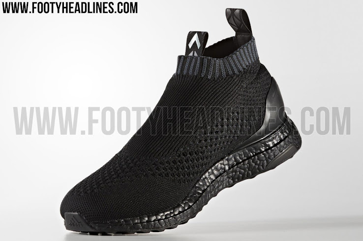 2a2af340d7a73 Triple Black Adidas Ace 16+ PureControl Ultra Boost Released ...