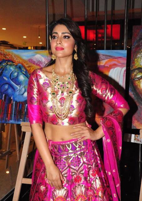 shriya saran photos at the wedding vow fashion show 13 - Shriya Saran in Pithani Silk Lehenga. wedding wows fashion show