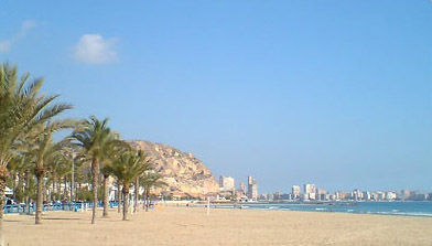 Beach Girl Wallpaper Click To See World Alicante Beach