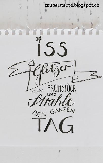 Lettering, Handlettering, Blog Schweiz