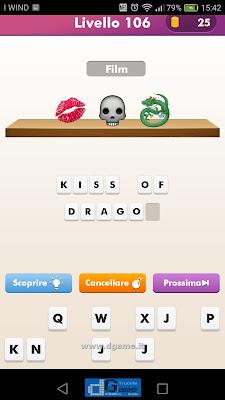 Emoji Quiz soluzione livello 106