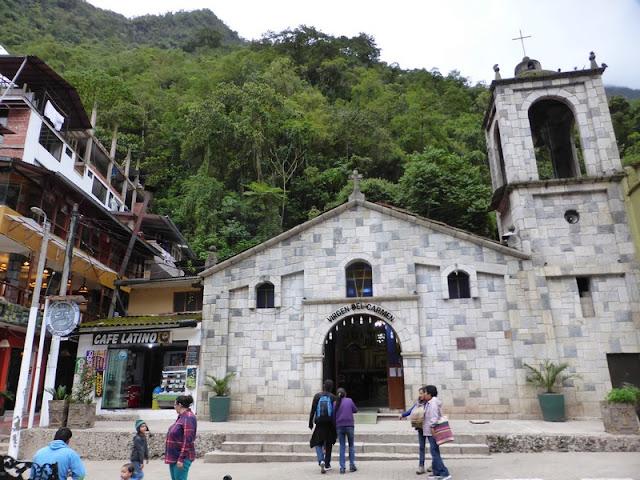 Machupicchu pueblo, iglesia de Aguas Calientes