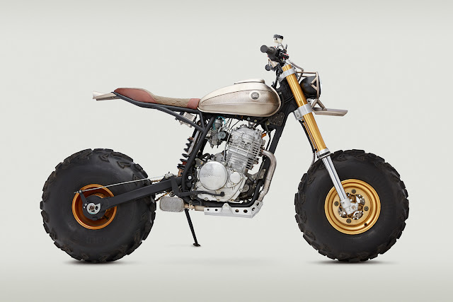 Honda XR650L By Classified Moto Hell Kustom