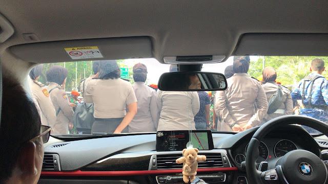 Begini Suasana Penghadangan Neno Warisman di Pekanbaru
