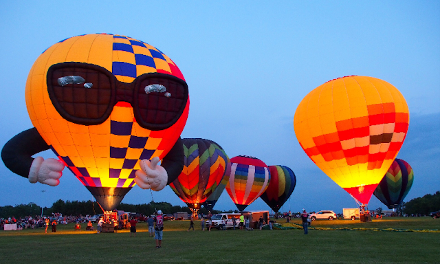 Hot Air Balloon Festival in Waterford, WI