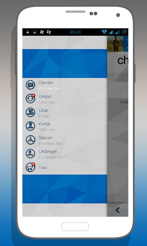 BBM Mod Apk Dengan Tampilan Stylist Ala Windows Phone Dan