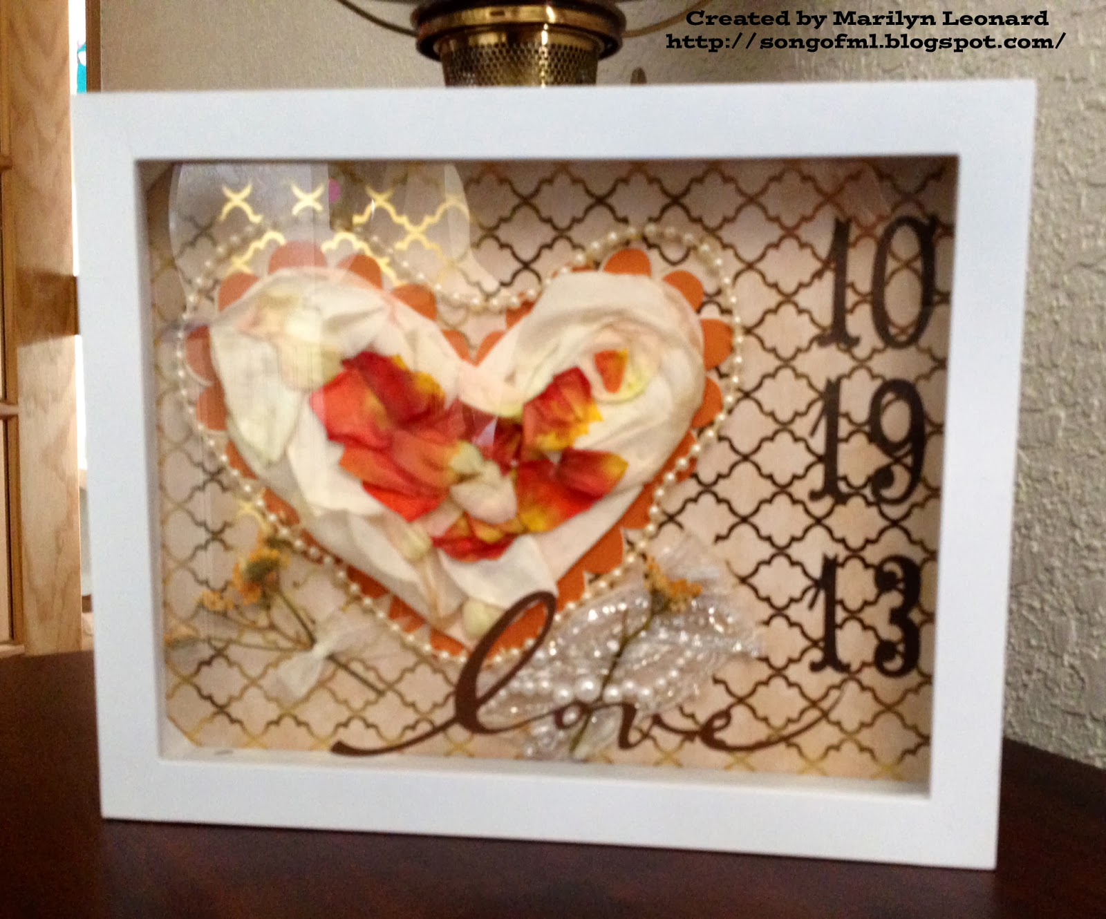 ~ Marilyn's Crafts ~: Wedding Bouquet Keepsakes