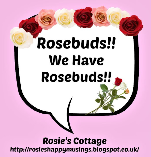 We have rosebuds
