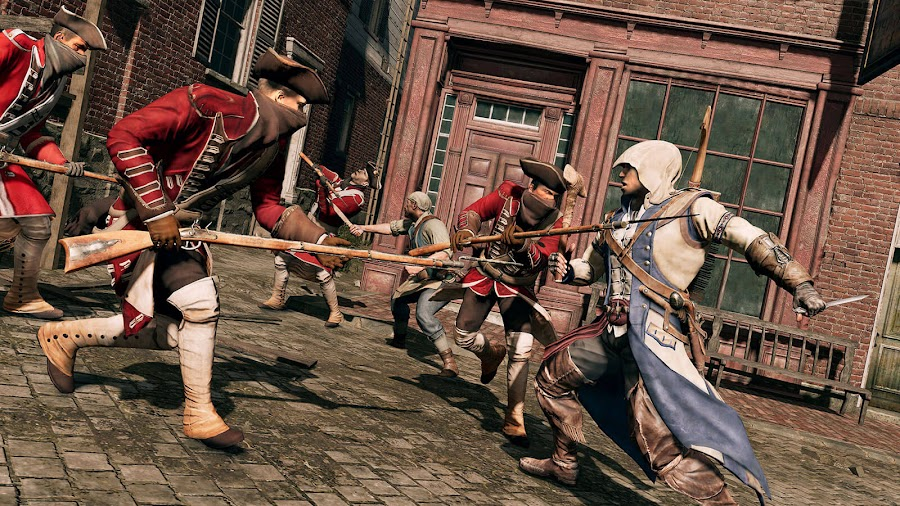 assassin's creed 3 remastered connor pc ps4 xb1