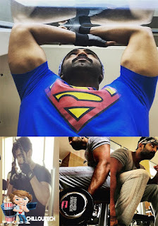 Actor and best villain Arun Vijay gym workout secret