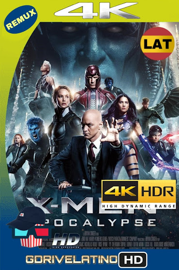 X-Men: Apocalipsis (2016) BDRemux 4K HDR Latino-Ingles MKV