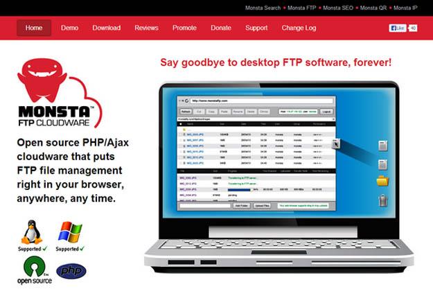 Manage files via FTP script with Monsta FTP - Software Zeek
