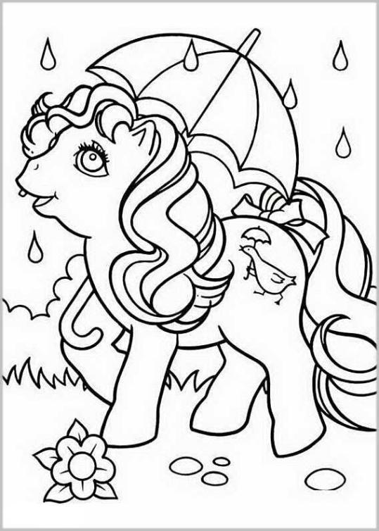ausmalbilder my little pony zum ausdrucken - ausmalbilder