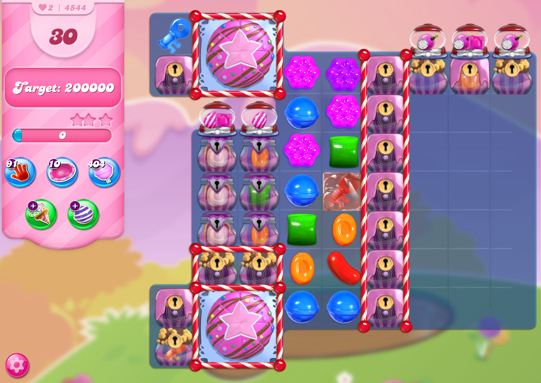 Candy Crush Saga level 4544