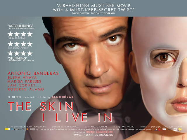 The Skin I Live In 2011 film Pedro Almoldovar poster