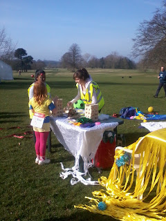 Popping Up at Sports Relief in Surrey