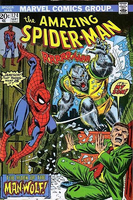 Amazing Spider-Man #124, Man-Wolf
