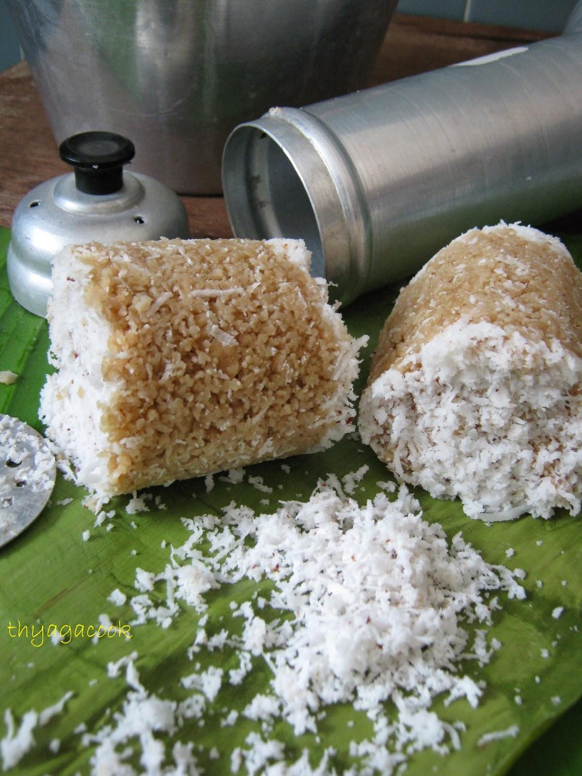 KARI LEAFS     Malaysian flavour's: ATTA FLOUR PUTTU