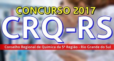 Concurso CRQ-RS 2017