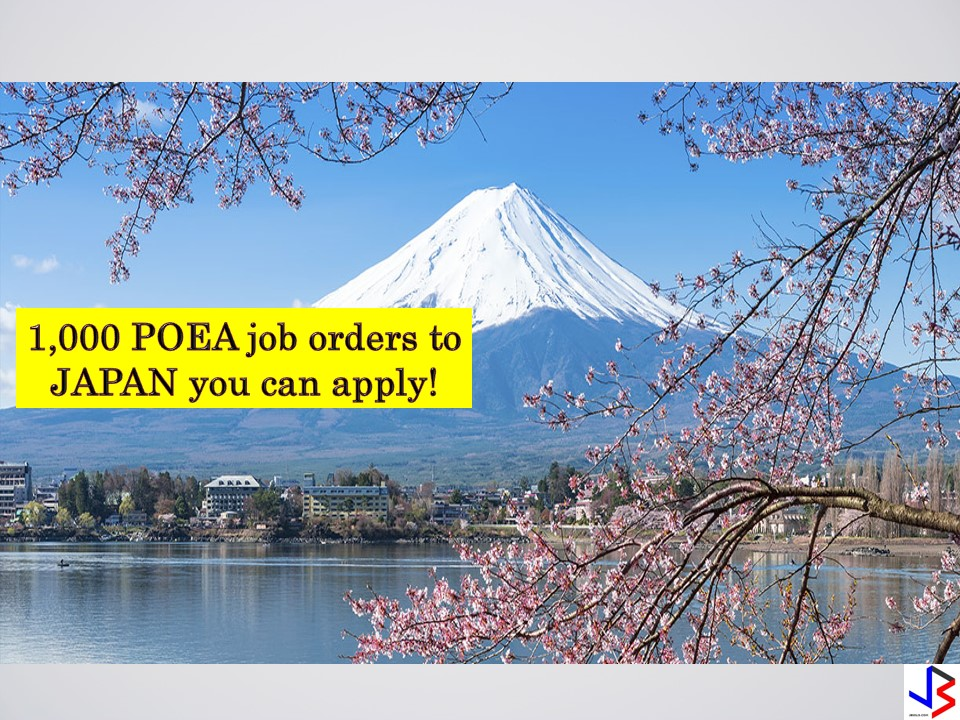 Searching for international employment opportunities or looking for jobs abroad? Here is your chance to work in Japan! The country is hiring hundreds of Filipino workers to work in different fields. Check the complete list below of job orders approved by the Philippine Overseas Employment Administration (POEA) to Japan where you can apply this month of September 2018. Please reminded that jbsolis.net is not a recruitment agency, and all information in this article is taken from POEA job posting sites and posted for the general information of the public.  The contact information of recruitment agencies is also listed. Just click your desired jobs to view the recruiter's info where you can ask a further question and send your application. Any transaction entered with the following recruitment agencies is at applicants risk and account.  This article is filed under Filipino workers, hiring Filipino workers, Japan jobs, employment site, job site, jobs abroad, and jobs near me.