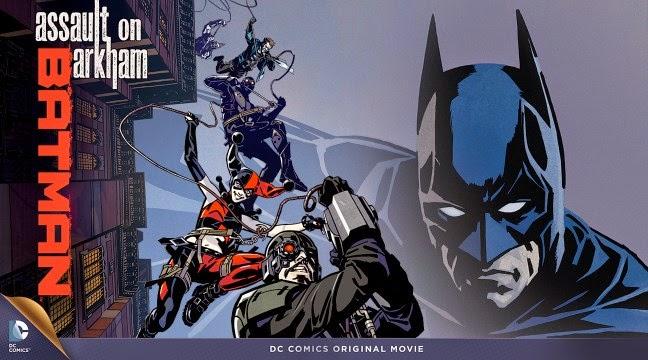 Dc Universe Animated Original Movies Batman Assault On Arkham