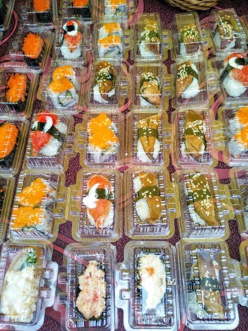 Sushi singget satu, beli 5 percuma 1