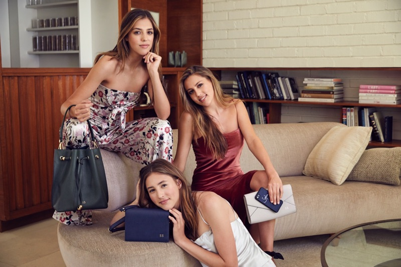 Stallone sisters star in The Daily Edited Campaign