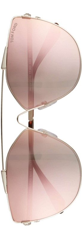 Tom Ford Elise 65mm Butterfly Sunglasses