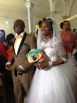Photographs from Nigerian Female Footballer, Perpetua Nkwocha's wedding