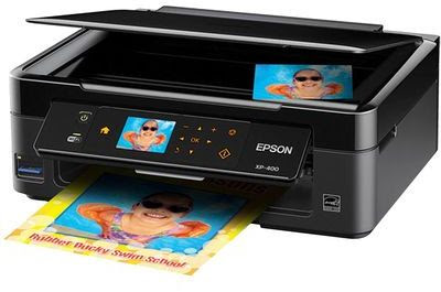scanner as well as copier alongside large affect panel Epson Expression Home XP-406 Driver Downloads