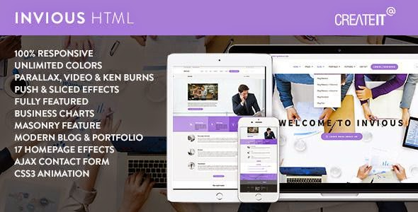 Best Responsive Corporate HTML Template